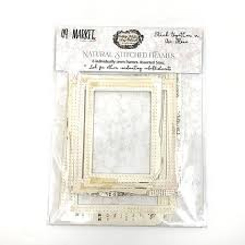 49 and Market Vintage Artistry Natural Stitch Frames