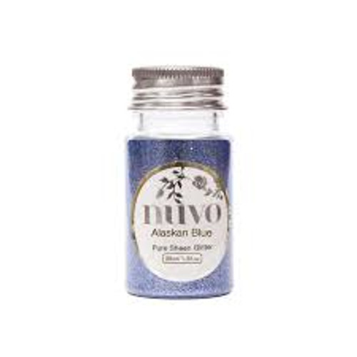 Nuvo Alaskan Blue Pure Sheen Glitter