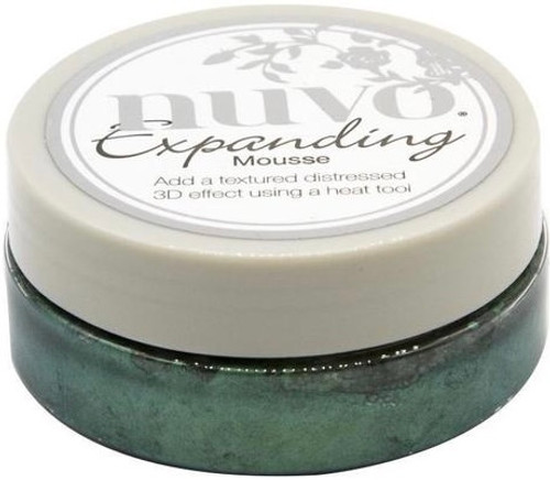 Nuvo Expanding Mousse Cactus Green