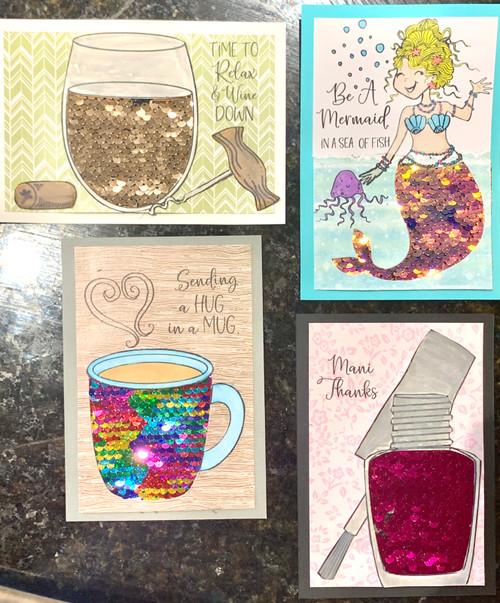 "Kreative Kreations ""Flippin' Fun"" Cards (Virtual Class 4)"