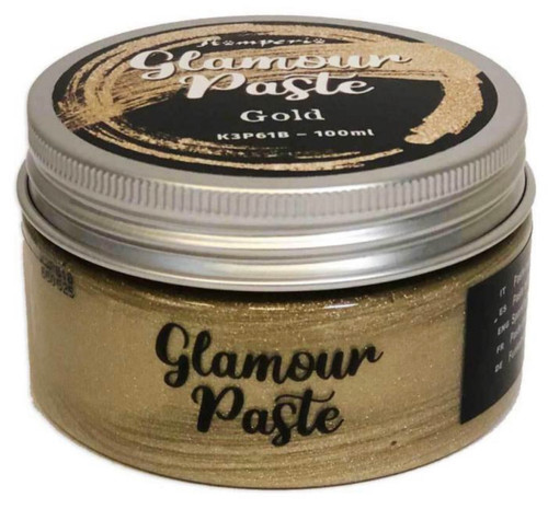 Stamperia Glamour Paste Gold