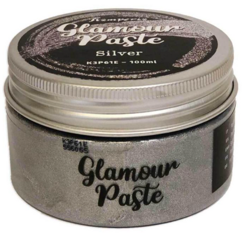 Stamperia Glamour Paste Silver