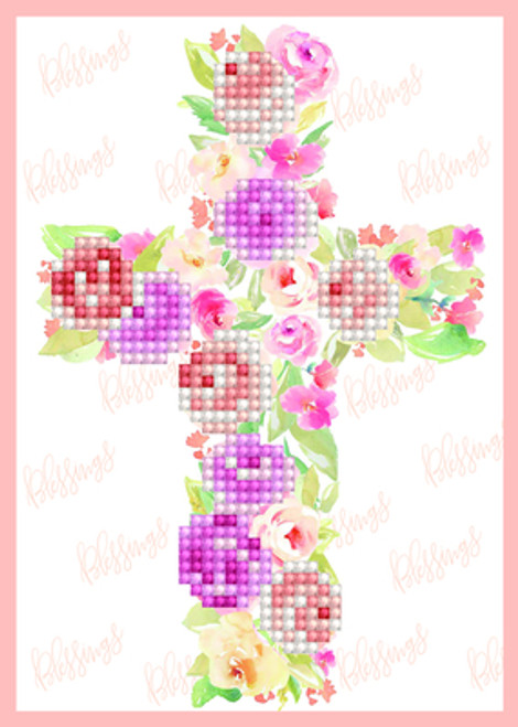 Diamond Dotz Blessings Greeting Card