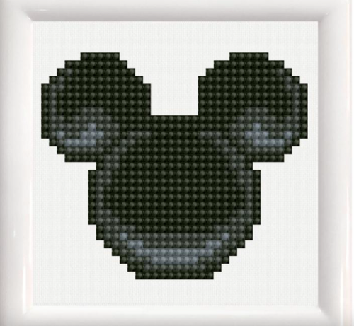 Diamond Dotz Mickey Mouse Head w/Frame