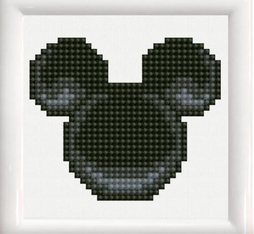 Diamond Dotz Mickey Mouse Head w/Frame