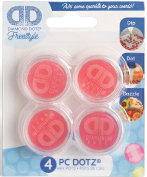 Diamond Dotz Freestyle Wax Pots 4pc
