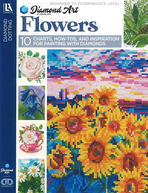 Diamond Art Flowers Painting Charts & Idea Book