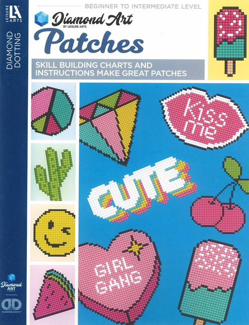 Diamond Art Patches Painting Charts & Idea Book