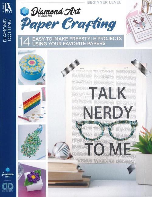 Diamond Art Sparkle Paper Crafting Book