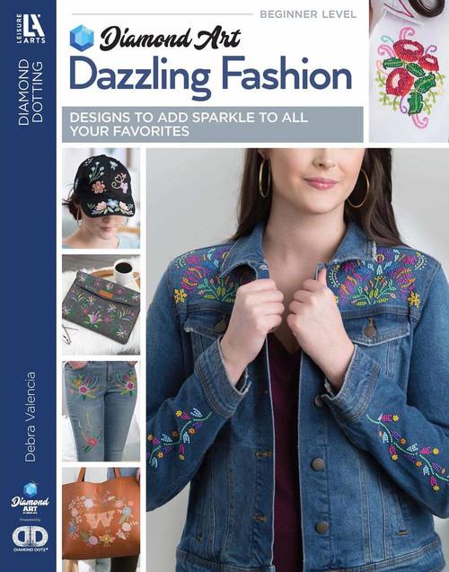 Diamond Art Sparkle Dazzling Fashion Book