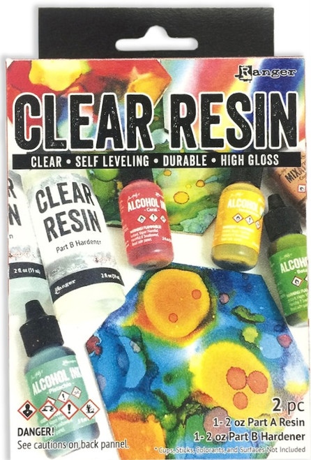 Ranger Clear Resin Two Part Kit