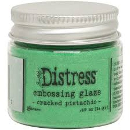 Ranger Tim Holtz Distress Embossing Glaze Cracked Pistachio