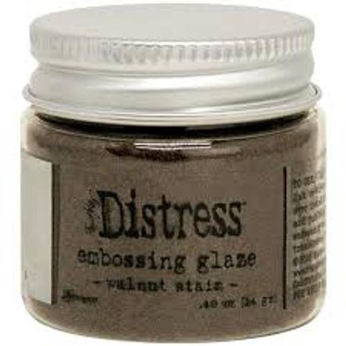 Ranger Tim Holtz Distress Embossing Glaze Walnut Stain
