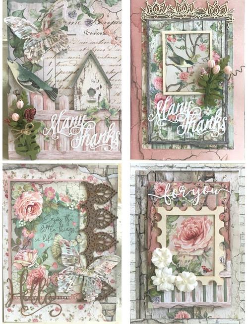 "Kreative Kreations ""House of Roses"" Card Kit (Virtual Class 5)"