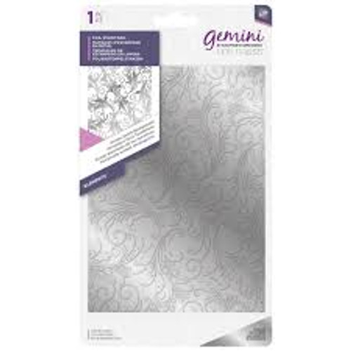 Gemini Foilpress Ornate Swirls Background Foil Stamp Dies