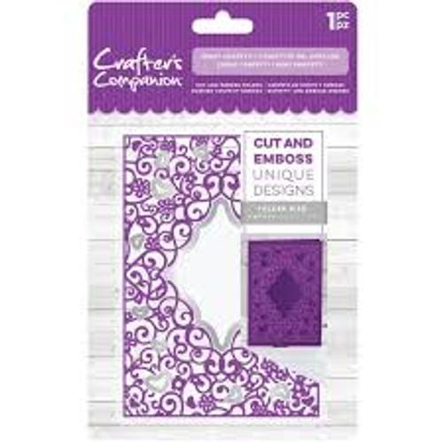 Gemini Heart Confetti Cut and Emboss Folder