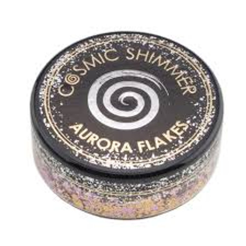 Creative Expressions Cosmic Shimmer Aurora Flakes Morning Blush