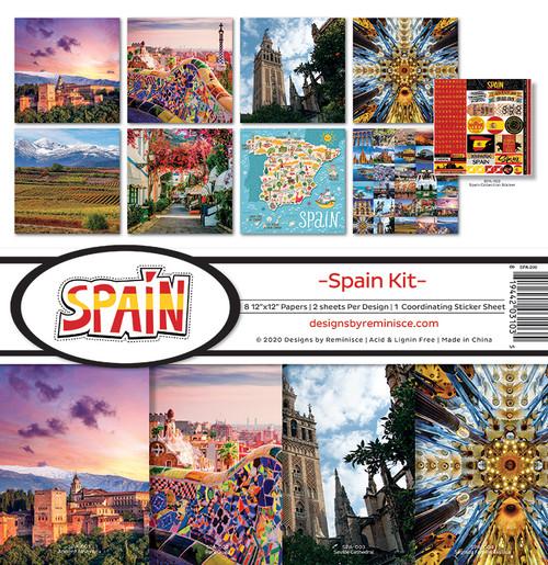 Reminisce Spain Kit Paper Pack