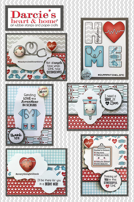 Darcie's Heart and Home Quarantine Card Class (Virtual Class 10)