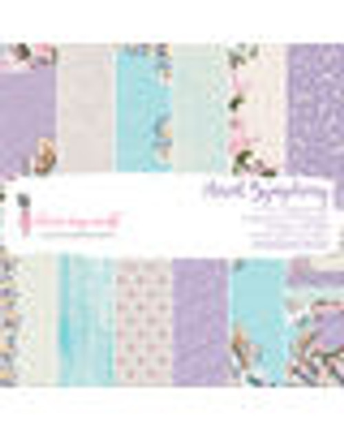 Dress My Craft Floral Symphony  6 x 6 Collection Paper Pack