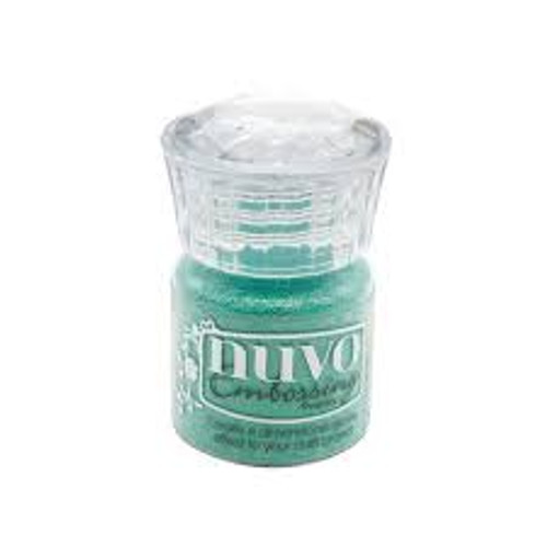 Nuvo Embossing Powder Glimmering Green
