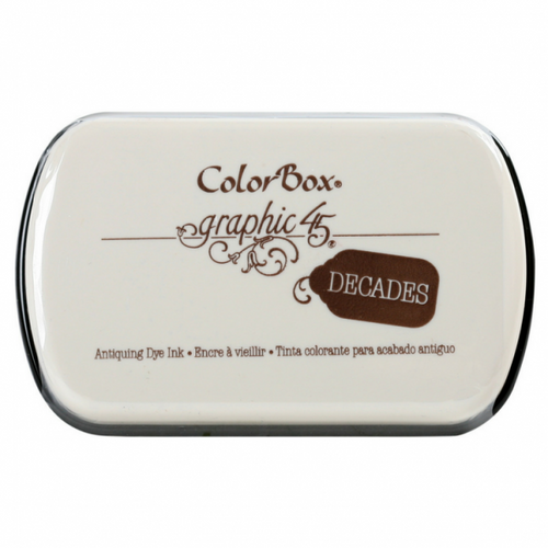 Graphic 45 Colorbox Decades Dye Pad Dark Cashmere