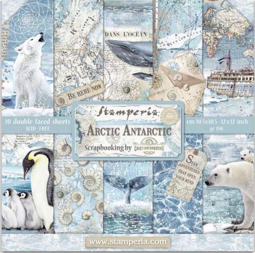 Stamperia Arctic Antarctic Paper Pack 12 x 12