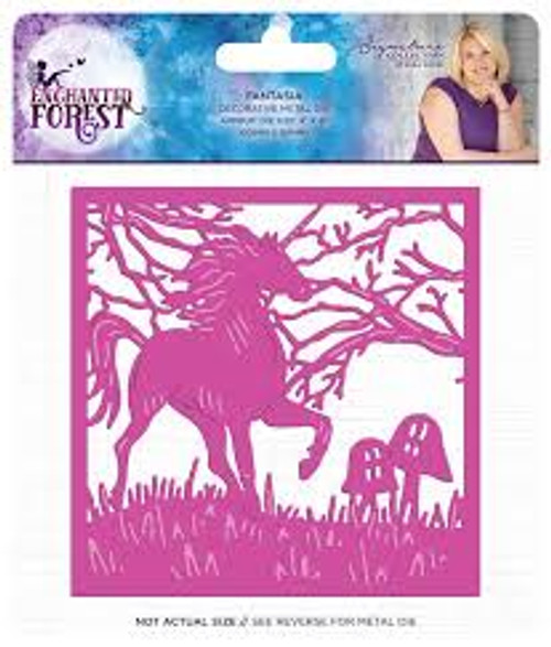 Crafters Companion Enchanted Forest Fantasia Unicorn Die