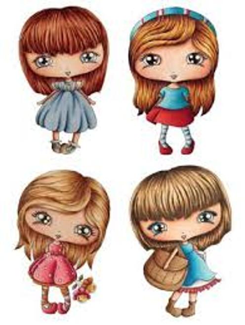 LDRS CandiBean Blossom Girls Stamp