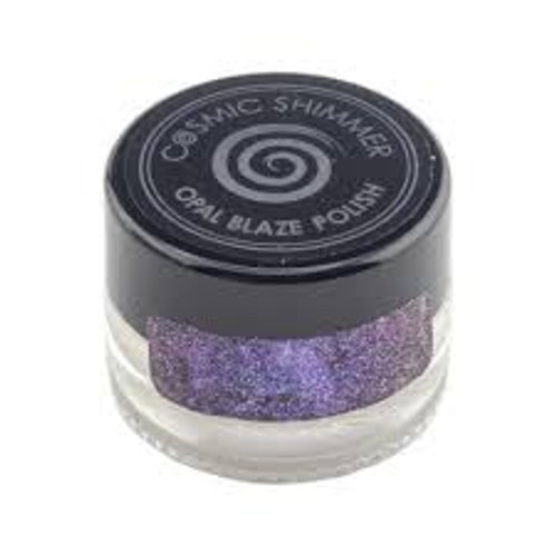 Cosmic Shimmer Opal Blaze Polish Sapphire Grape