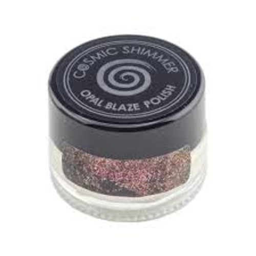Cosmic Shimmer Opal Blaze Polish Sunset Orange