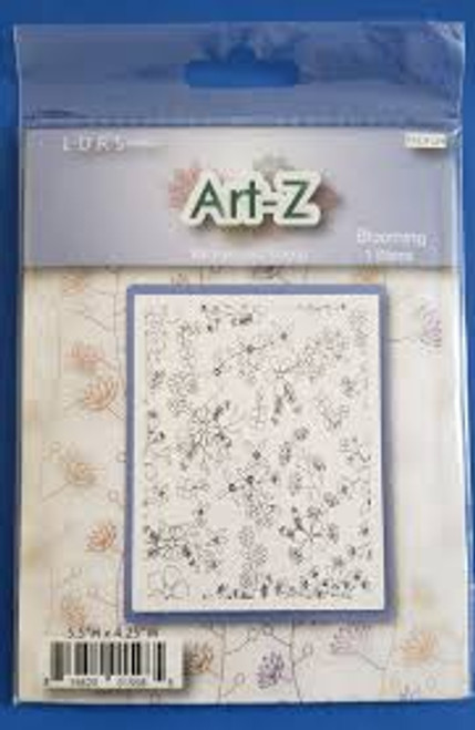 LDRS Art-Z Blooming Background Stamp