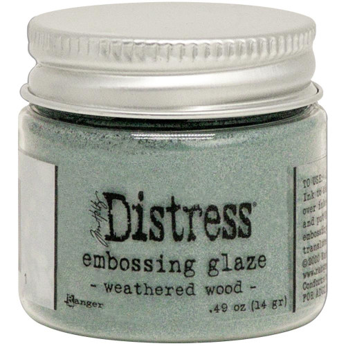 Ranger Tim Holtz Distress Embossing Glaze Weathered Wood