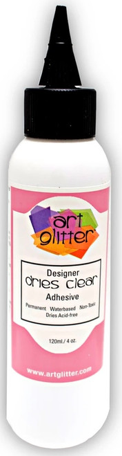 Art Glitter Designer Dries Clear Glue 4 oz.