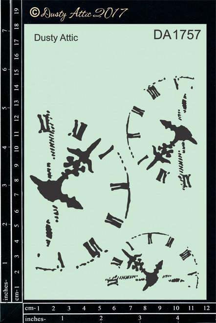 Dusty Attic Clockworks  #2 Stencil