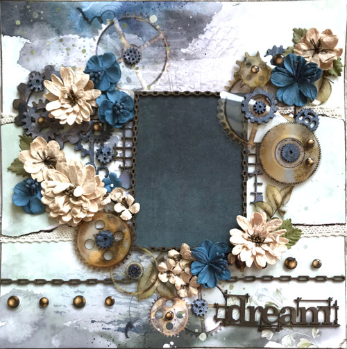 """Kreative Kreations """"Dream Big"""" 2-Page Layout"""
