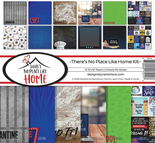 Reminisce There's No Place Like Home Kit Paper Pack