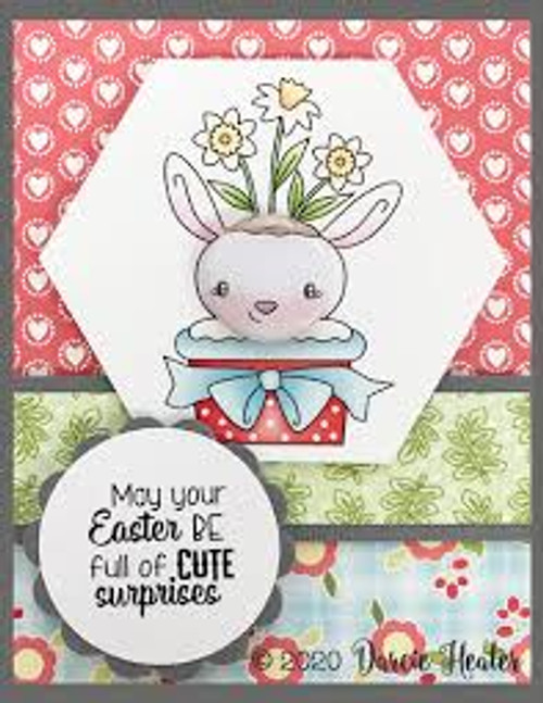 Darcie's Heart & Home Bundle Gnome One Clear Stamp and Tin Pin Set