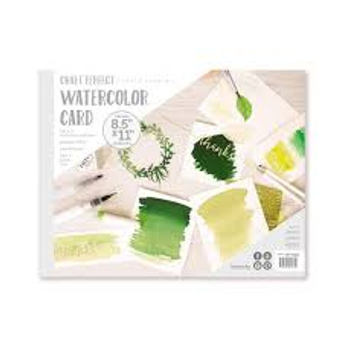 "Tonic Craft Perfect Watercolor Card Pad 8.5"" x 11"""