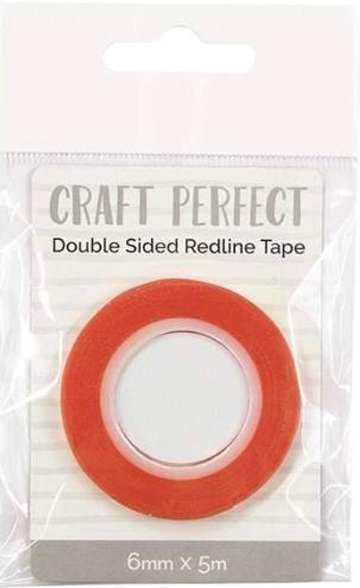 Craft Perfect Double Sided Redline Tape 6mm x 5m