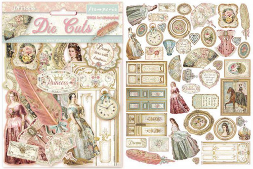 Stamperia Princess Die Cuts