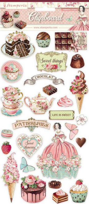 Stamperia Sweety Chipboard