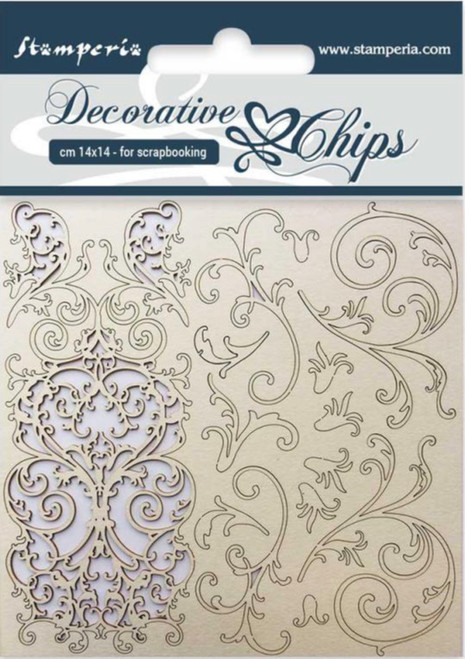 Stamperia Decorative Chips Tapestry