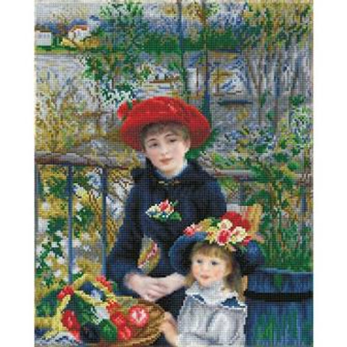 Diamond Dotz Two Sisters on the Terrace (apres Renoir)