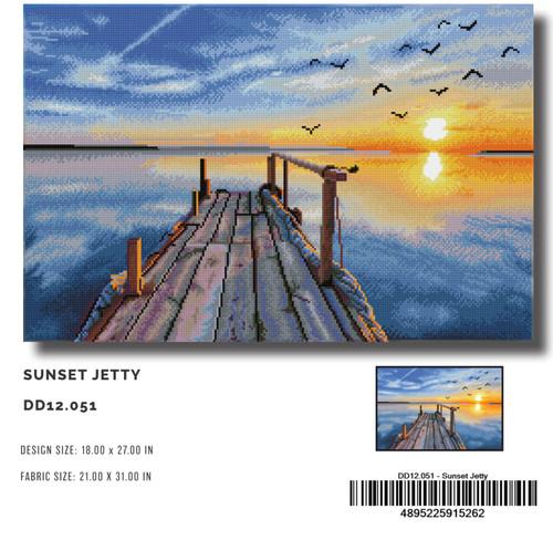 Diamond Dotz Sunset Jetty
