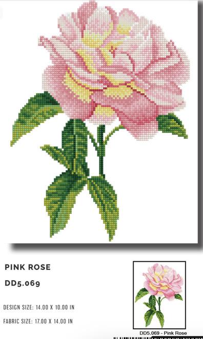 Diamond Dotz Pink Rose