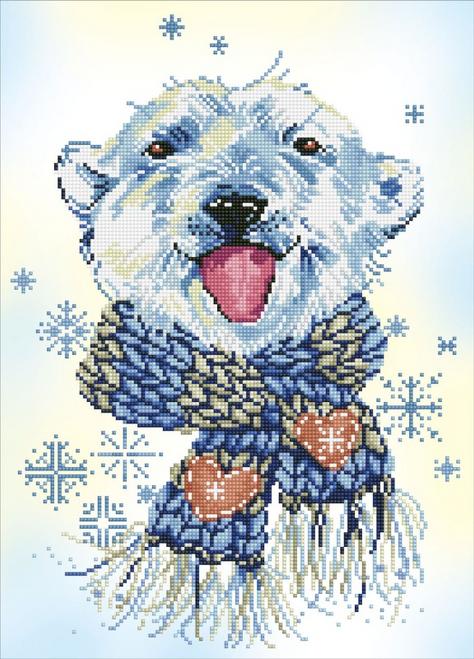 Diamond Dotz Polar Dude