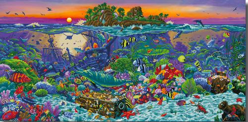 Diamond Dotz Coral Reef