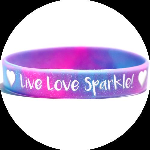 Live Love Sparkle Bracelet