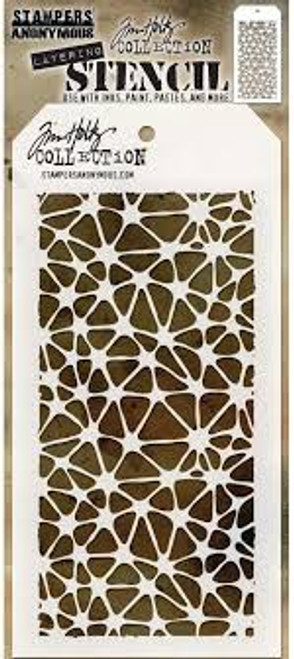 Tim Holtz  Stampers Anonymous Organic Layering Stencil